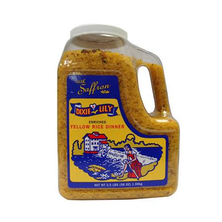 Yellow Rice Dinner with Saffron / Jug
