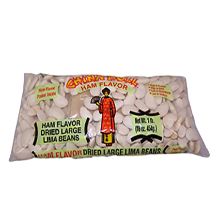 China Doll Ham Flavor Large Lima Beans